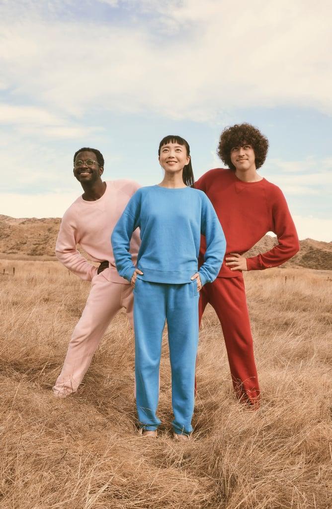 Entireworld French Terry Sweatshirt and Sweatpants
