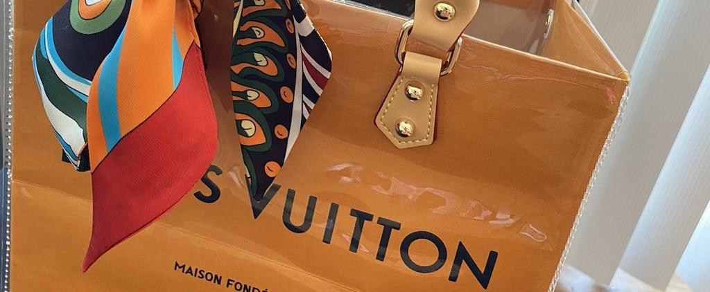 Create a Louis Vuitton PVC Bag With This TikTok DIY