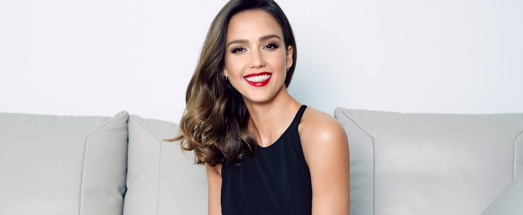 Jessica Alba Interview: Party Season Beauty and Gifting Tips