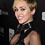Miley Cyrus's Blond Pixie Cut in 2014