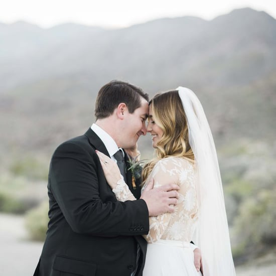 Desert Backyard Wedding