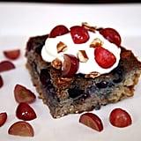 Get the recipe: blueberry grape barley bake