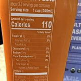 Nutritional Info of Mango Trader Joe's Cultured Cashew Beverage