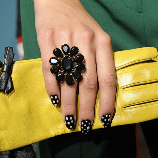 Kate Spade Polka-Dot Nails
