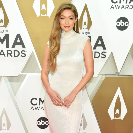 Gigi Hadid's CMA Awards Helmut Lang Dress