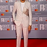 AJ Tracey at the 2020 BRIT Awards Red Carpet