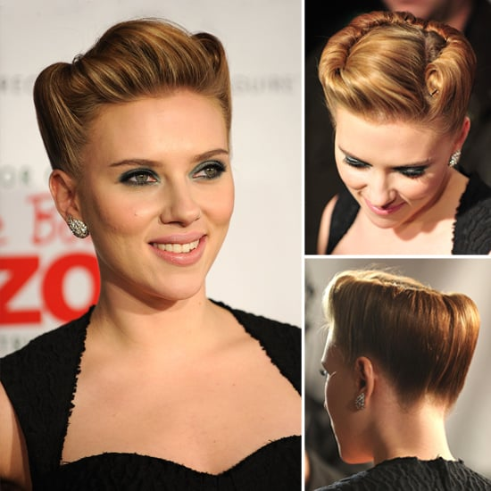Scarlett Johansson's Blade Runner Updo: Love It or Leave It?