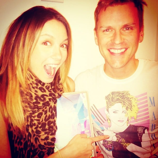 Ricki-Lee Coulter expressed her excitement at going to see Madonna in concert. Source: Instagram user therickilee