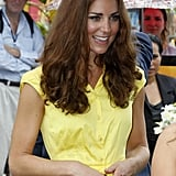 Kate's yellow Jaeger dress.