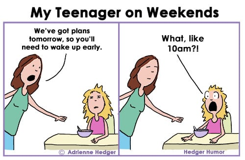 Morning Struggles Parenting Comics