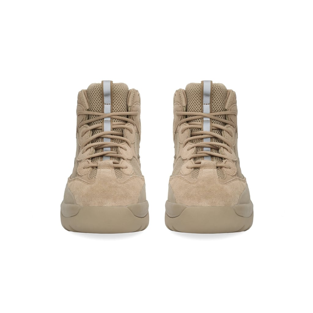 8eee6690427 Emily s Exact Yeezy Thick Suede Desert Boot in Taupe
