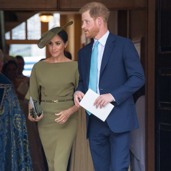 Meghan Markle's Green Ralph Lauren Dress at Christening 2018
