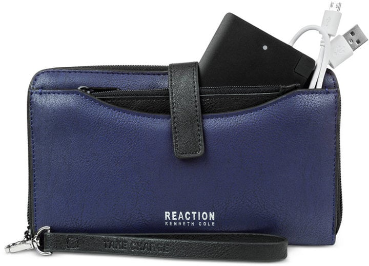 Kenneth Cole Reaction Right Angles Tab Tech Wristlet with Charger ($78)