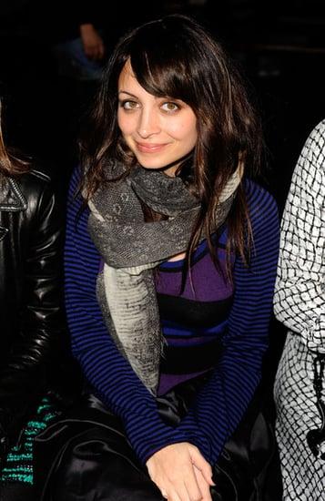 Nicole Richie attends The Proenza Schouler Fall 2010 Fashion Show