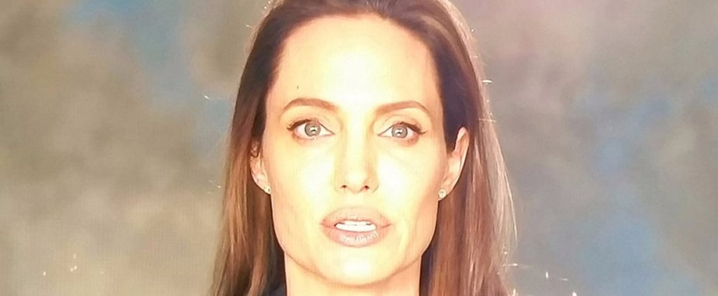 Angelina Jolie Makes Her First Appearance Since Her Breakup From Brad Pitt