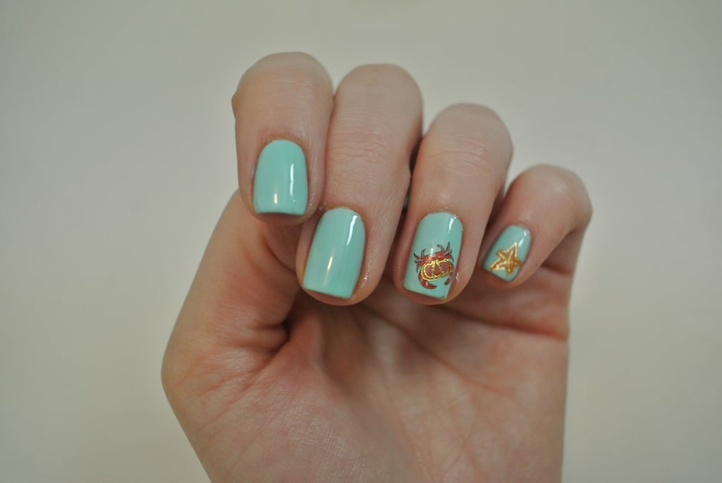 DIY Under The Sea Themed Nail Art Using Water Decals | POPSUGAR ...
