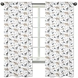 Sweet Jojo Designs Window Panels — Woodland Animals
