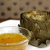 Steamed Artichokes With Lemon-Pepper Butter