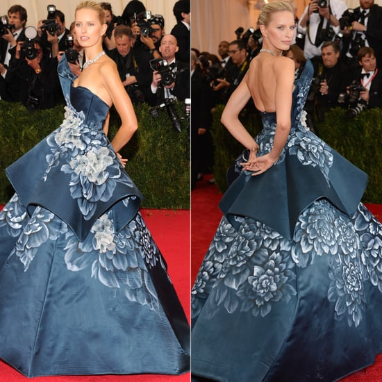 Karolina Kurkova in a Marchesa Dress at 2014 Met Gala