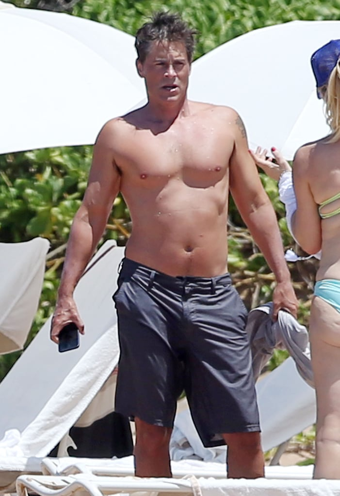 Rob Lowe  Best Shirtless Pictures 2015  Popsugar Celebrity Photo 31-3236