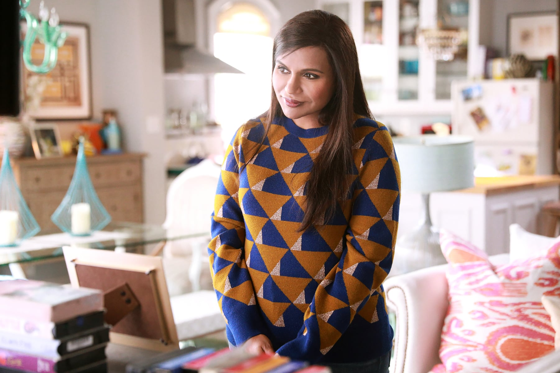 THE MINDY PROJECT, Mindy Kaling in 'Is That All There Is?' (Season 6, Episode 1, aired September 12, 2017). ph: Jordin Althaus/Hulu/courtesy Everett Collection
