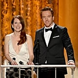 Julianne Moore and Damian Lewis presented at the SAG Awards.