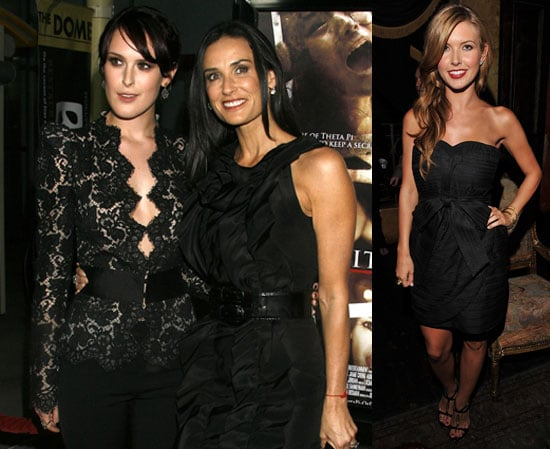Photos and Quotes of Rumer Willis, Demi Moore, Audrina Patridge at Sorority Row Premiere in LA
