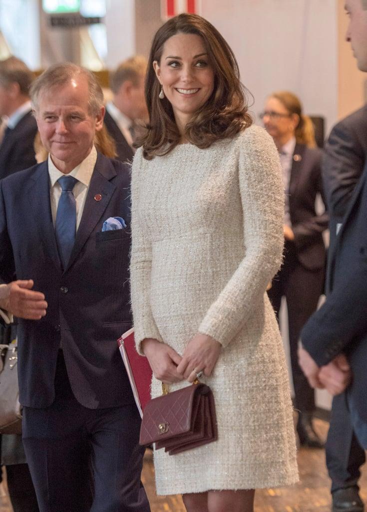 Kate Middleton's Tweed Alexander McQueen Dress