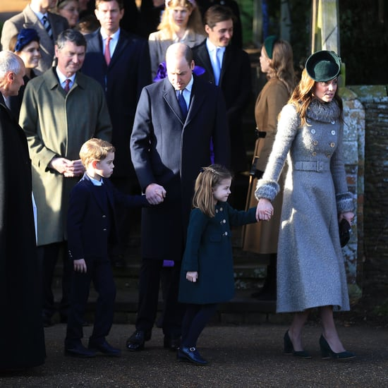 British Royal Family Christmas Church Service 2019