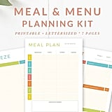 Meal and Menu Planning Kit ($7)