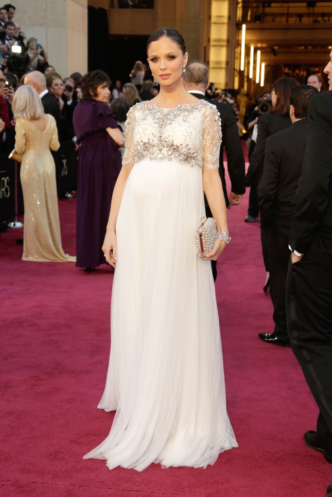 Georgina Chapman Pregnant At The Oscars POPSUGAR Moms