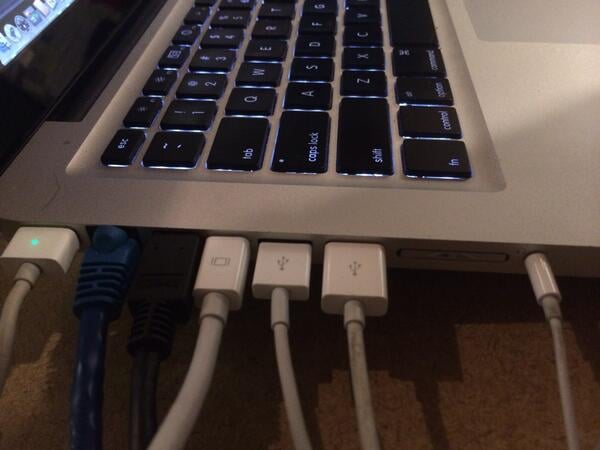 Running Out of Precious Ports