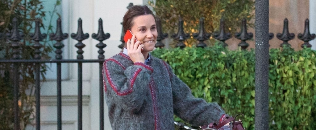 Pippa Middleton's Fall Coat Is a Piece We Bet Kate Middleton Would Ask to Borrow