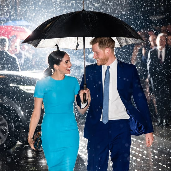 Prince Harry and Meghan Markle at the 2020 Endeavour Awards