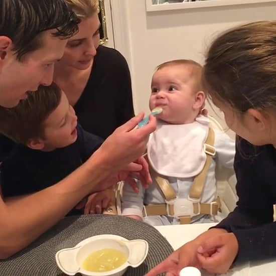 Feeding Frenzy! Ivanka Trump Shares Adorable Video of Theo's First Food Tasting