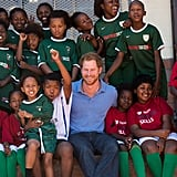 When Harry Bonded With an Adorable Group of Kids in South Africa