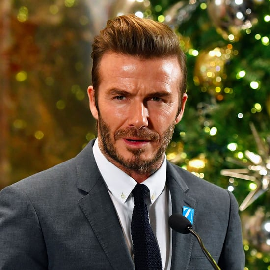 David Beckham Lights the Empire State Building Dec. 2016