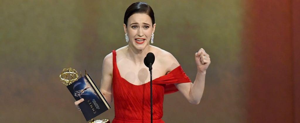 Rachel Brosnahan's Emmys 2018 Speech Video