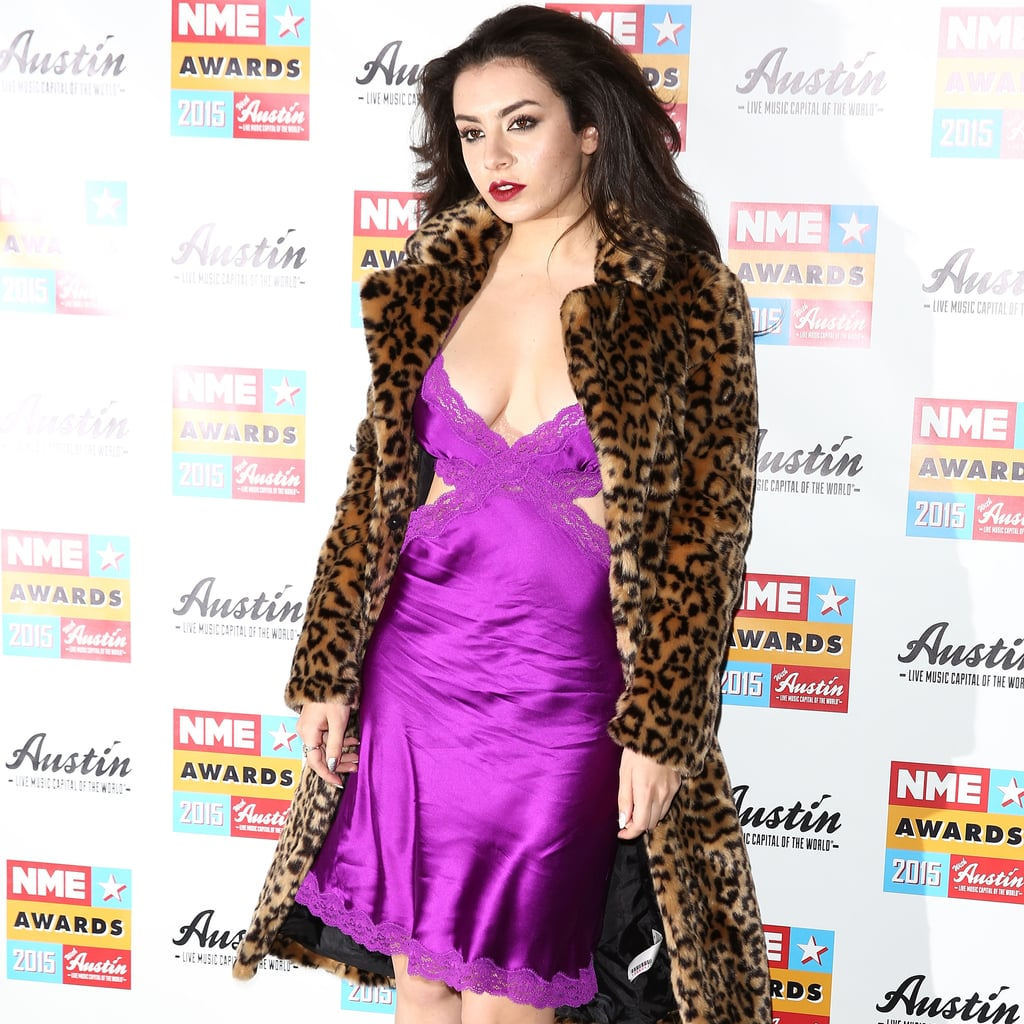 Charli XCX Wears Lingerie to NME Awards