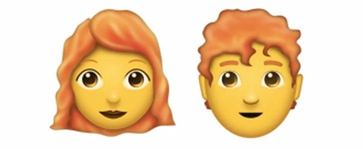 Redhead Emoji Coming in June 2018
