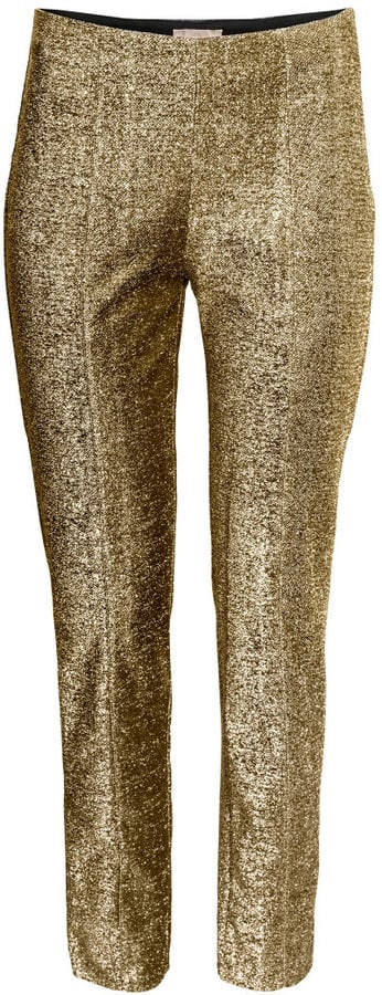 H&M Glittery Pants