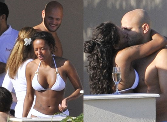 Photos of Melanie Brown aka Mel B From Spice Girls in Bikini With Shirtless Husband Stephen Belafonte After Renewing Their Vows