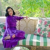 And finally, a look at Dita's airy bedroom balcony.