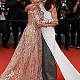 Helen Mirren and Andie MacDowell