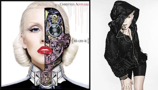 "Christina Aguilera's Album Cover Released and Robyn's ""Fembot"" Single Both Robot-Inspired"