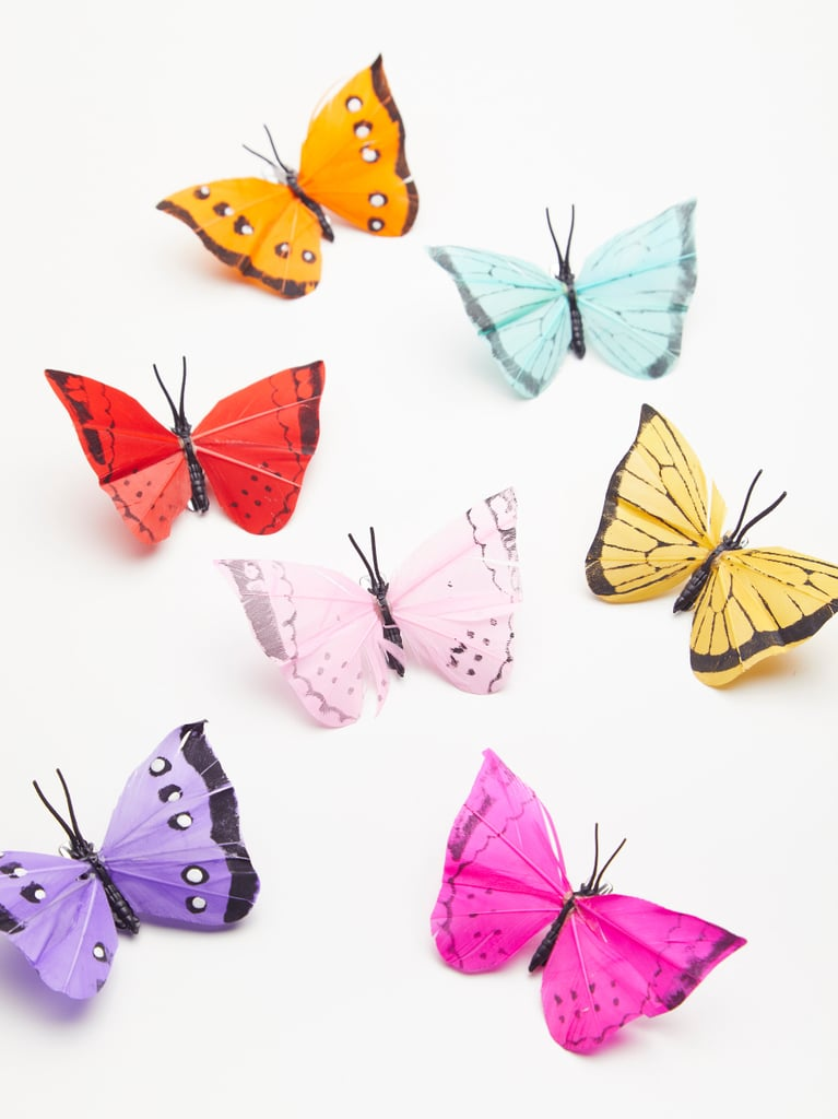 Butterfly Hair Clip 7-Pack ($48)