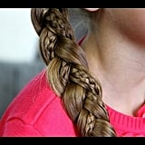 Simple Braid With Microbraid Accents