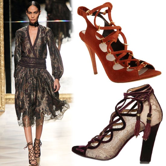 The Laced-Up Look: 13 Ways to Channel Fall's New Shoe Appeal