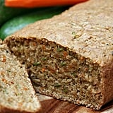 Vegan Carrot Courgette Bread