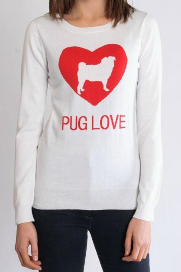 Twist Pug Love Sweater ($32)
